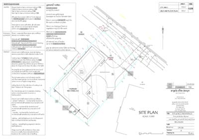 Learn How To Read Site Plans