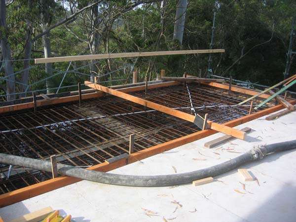 Floor construction for Concrete slab plans