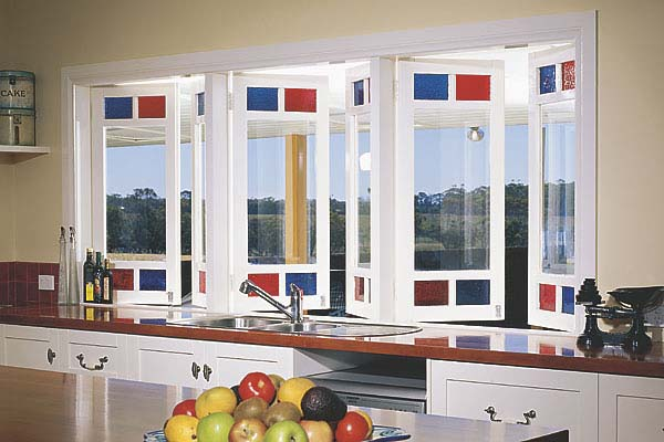 Stegbar casement windows