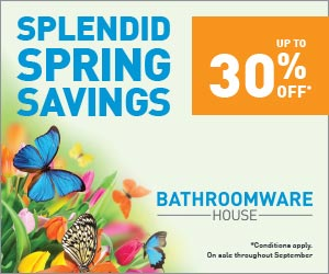 Bathroomware House Spring Sale