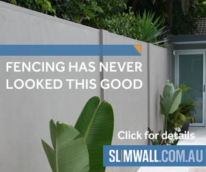 SlimWall Designer Fences offer a sought after designer look combined with proven noise reduction qualities. The next generation