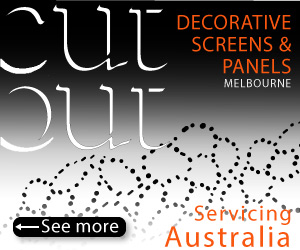 Cutout offers Laser Cut Concepts, Laser Cut Signs, Letterbox designs, Wall Cladding and more
