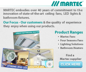 Lighting, Ceiling Fans, Bathroom Heaters