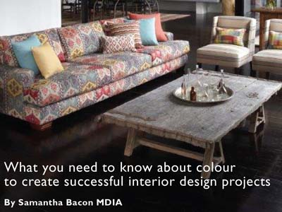 Colour Palettes for Interiors