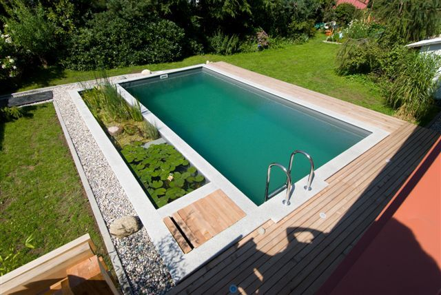 converted swimming pool