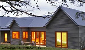 Flame zone compliant windows and doors from Paarhammer