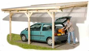 attached carport construction