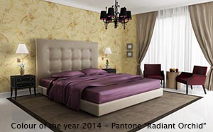 Colour of the year 2014 - Pantone Radiant Orchard