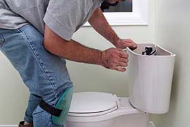 installing the toilet bowl 2