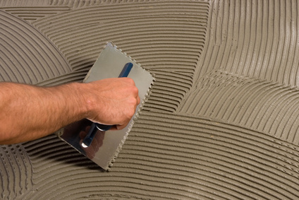 Diy floor tiling - Imitation faience adhesive ...