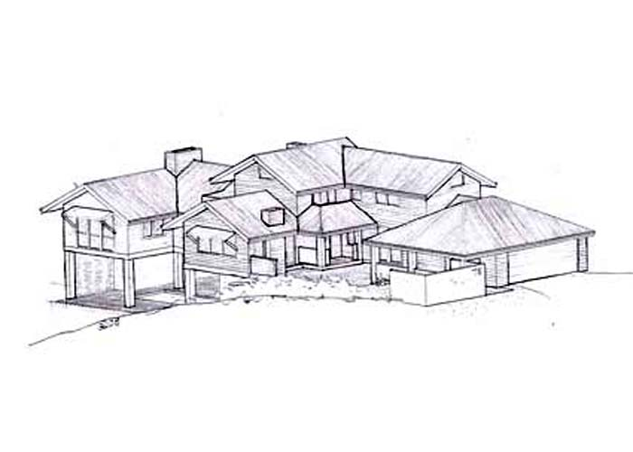 Sketch designs houses House design