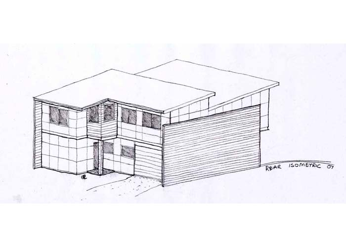 Office table drawing sketch - How To Create Sketch Designs When Designing A House