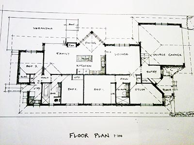 Diy house plans for How to draw architectural plans by hand
