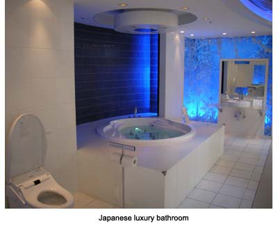 Japanese toilets for Luxury bathroom companies