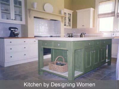 Designing Women French Kitchen