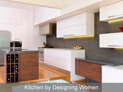 Designing Women white kitchen