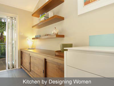Designing Women white kitchen 2
