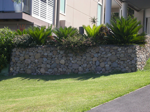 stone choice what type of stone will best suit your overall development any type of stone can be used but remember the larger the stones the more time - Gabion Retaining Wall Design