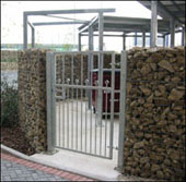 Stone Gabion Walls And Fencing