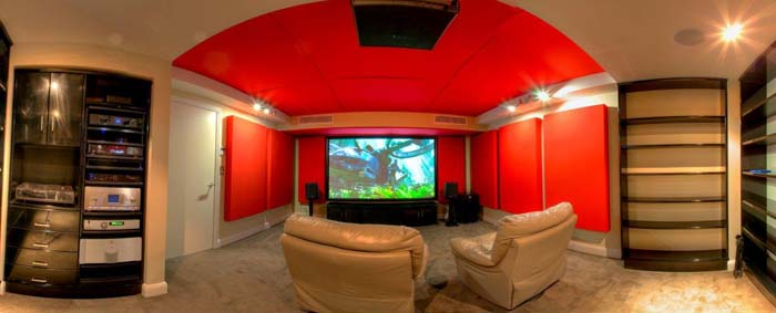 The Ultimate Man Cave - Panoramic View