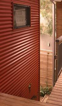 Corrugated Iron Corrugated Iron As Cladding