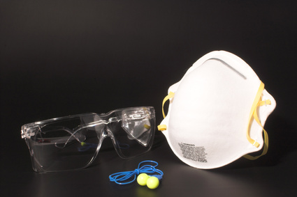 Protective gear for painting preparation