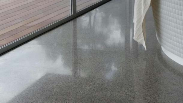 An Interior Concrete Floor Is A Cost Effective Beautiful And Durable