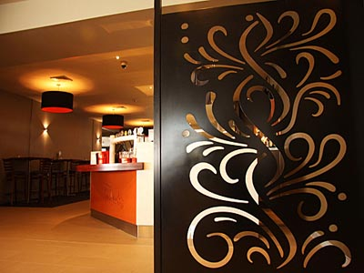 Decorative screens, panels and dividers by Cutout