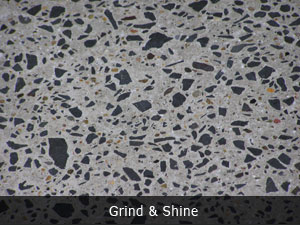 polished concrete floor with aggregate 2