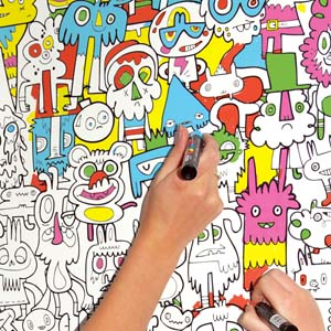 colour in wallpaper example 2