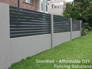 slimwall modular acoustic render look a like fence