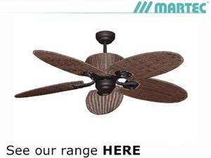 Martec Modern Ceiling Fan Example