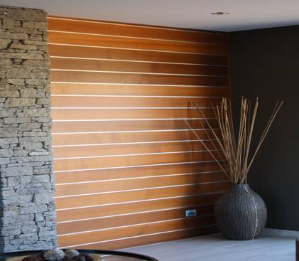 Interior wall linings for Interior wall wood cladding ideas