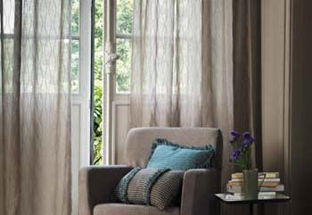 curtains by Zepel Fabrics